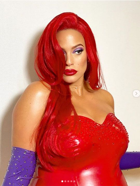 Ashley Graham as Jessica Rabbit