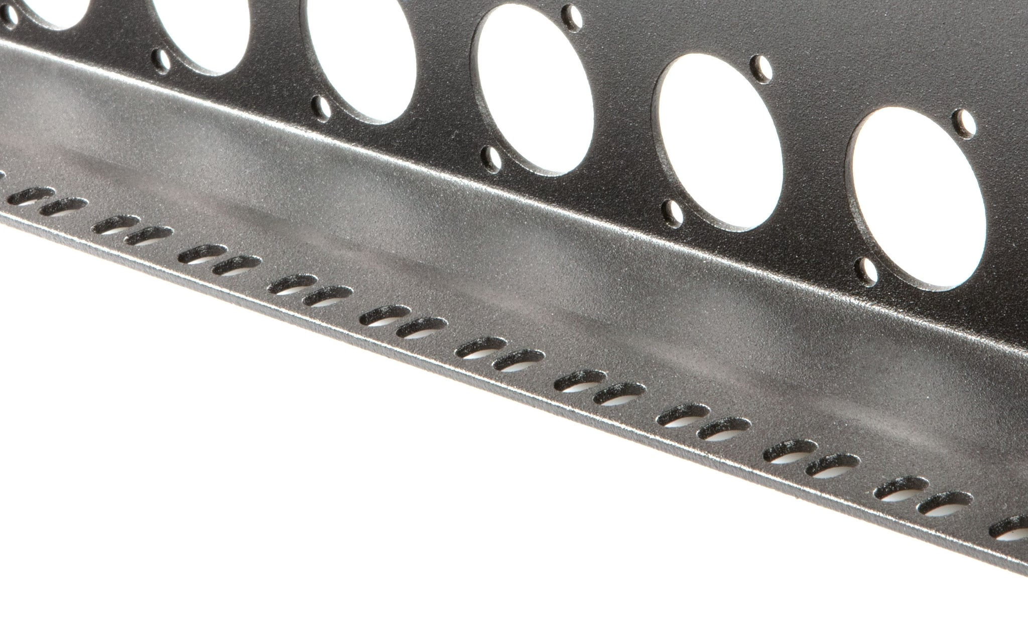 Elite Core TSP-1U-12D 1 Space Rack Panel - 12 D Punches and Tie Down