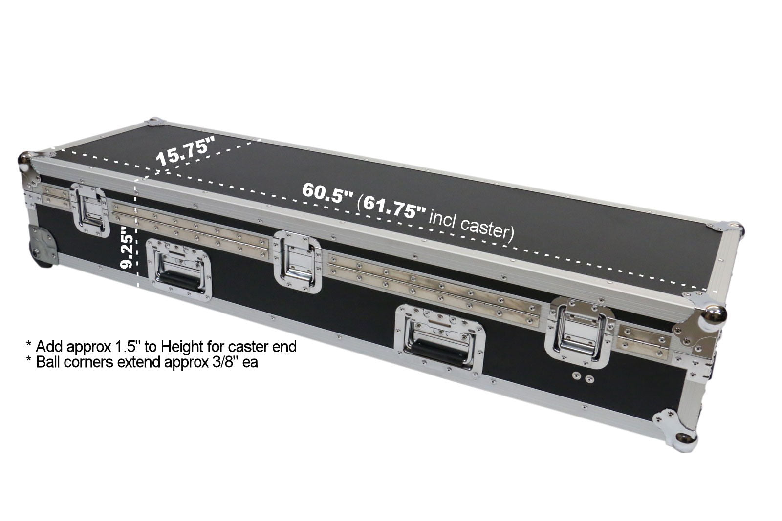 XS8 ATA-XF8-WC OSP Cases ES8 ATA Road Case Keyboard Case for ...