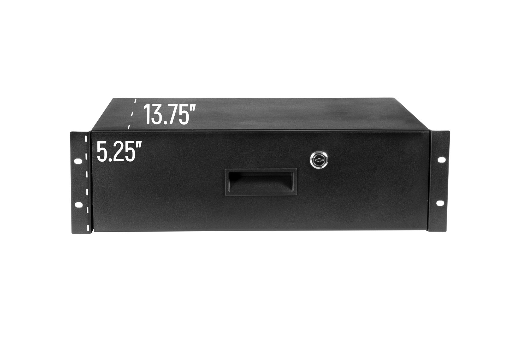 OSP RD3U Metal Rack Drawer with Lock, 3U