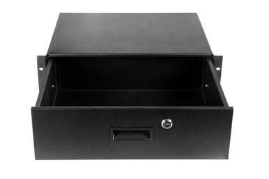 Elite Core RD4U Metal Rack Drawer with Lock, 4U
