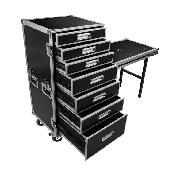OSP PRO-WORK Case w/ 7 Drawers