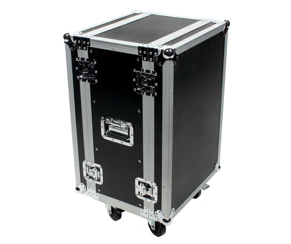 OSP RC16U-12 16 Space ATA Effects Rack w/Casters