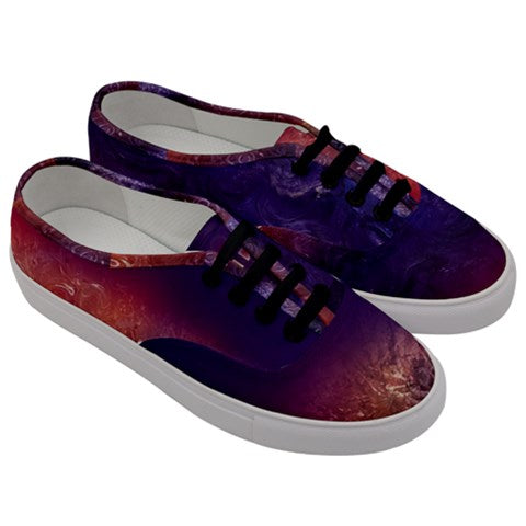 The Purple One Women's Low Top Canvas Sneakers