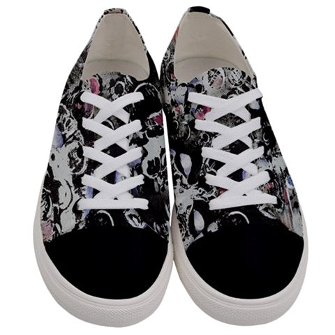 Starr Power Women's Low Top Canvas Sneakers