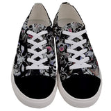 Starr Power Men's Low Top Canvas Sneakers