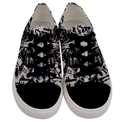 Untitled Men's Low Top Canvas Sneakers