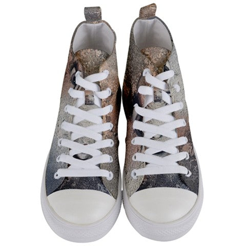 Face Women's Mid Top Canvas Sneakers