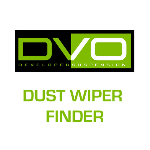 DVO Dust wiper finder