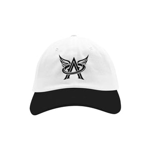 Logo Dad Hat [White/Black]