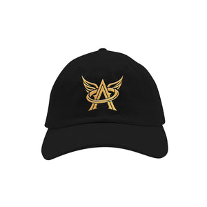 Arcangel Dad Hat [Black/Gold]