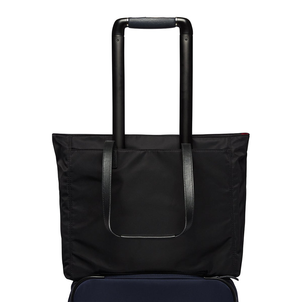 "Grosvenor Place Laptop Tote Bag - 14"" -  Black"