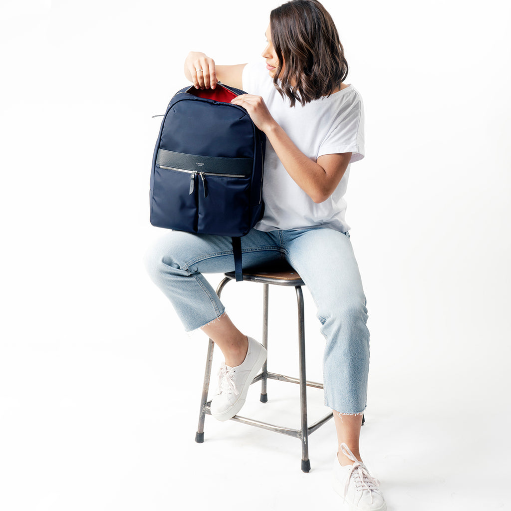 "Beaufort Laptop Backpack - 15.6"" -  Dark Navy 