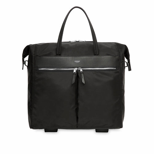 "KNOMO Sedley Wheeled Travel Laptop Tote Bag - 15"" From Front 