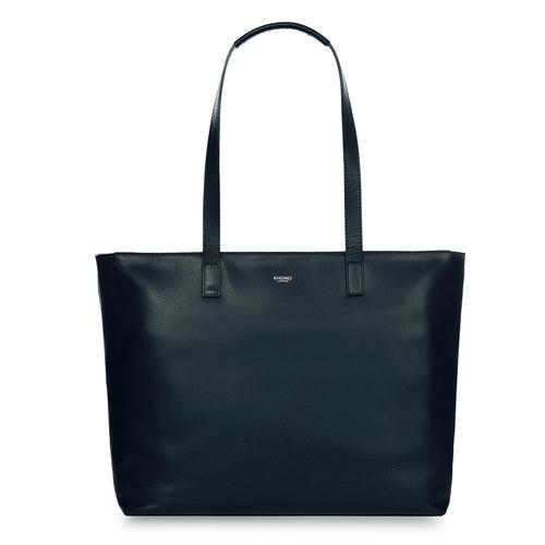 "KNOMO Maddox Leather Laptop Tote Bag - 15"" From Front 
