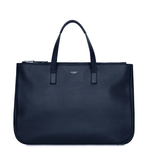 "Leather Tote 13"" - Derby 