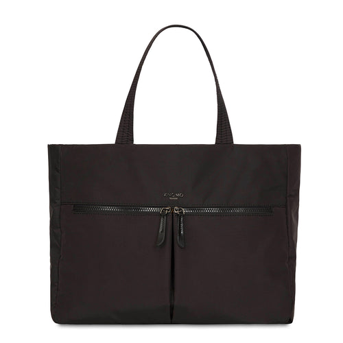 "KNOMO Amsterdam Ultra Lightweight Tote 14"" From Front 