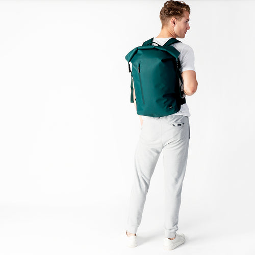 "KNOMO Cromwell Roll-Top Laptop Backpack - 14"" Main Image 