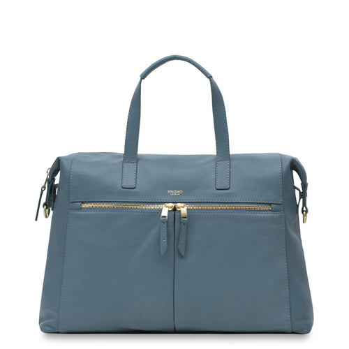 Leather Laptop Handbag - 14