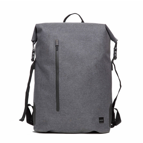 "KNOMO Cromwell Roll-Top Laptop Backpack - 14"" From Front 