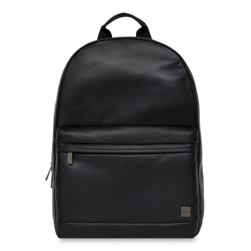 "KNOMO Albion Leather Laptop Backpack - 15"" From Front 
