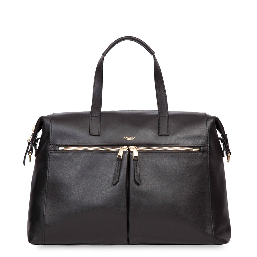 Leather Laptop Handbag - 14""