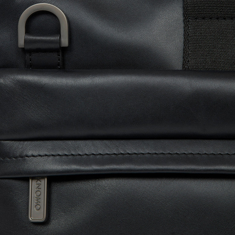 Leather Laptop Briefcase - 15""