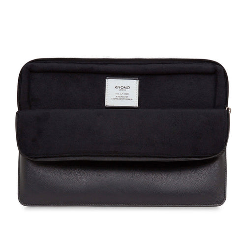 FITS MACBOOK - Leather Laptop Sleeve - 12"