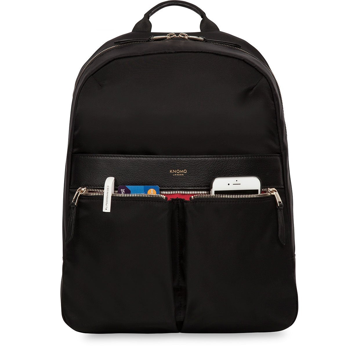 "Beauchamp Laptop Backpack - 14"" -  Black 