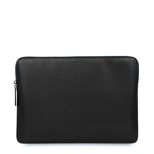 "KNOMO Embossed Laptop Sleeve 12 inch Embossed Laptop Sleeve - 12"" From Front 
