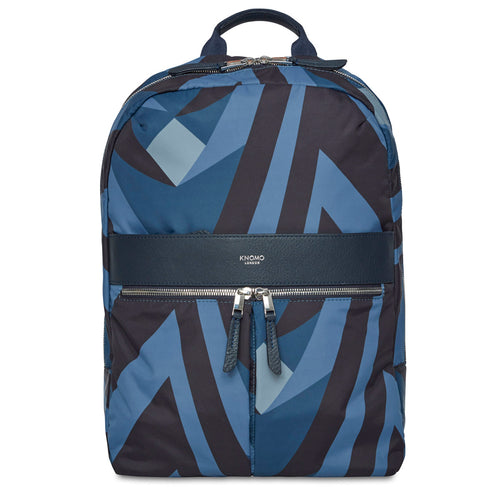 "KNOMO Beauchamp Laptop Backpack - 14"" (V&A Exclusive) From Front 