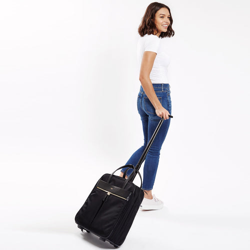 "KNOMO Burlington Wheeled Travel Laptop Bag - 15"" Main Image 