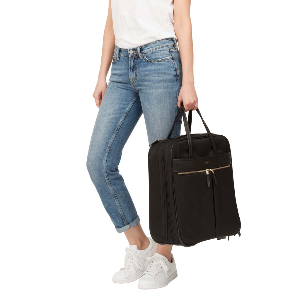 "Burlington Wheeled Travel Laptop Bag - 15"" -  Black"