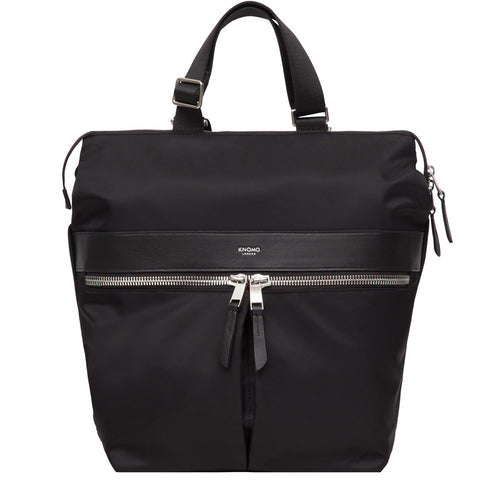 "KNOMO Gilbert Laptop Tote Backpack - 14"" From Front 