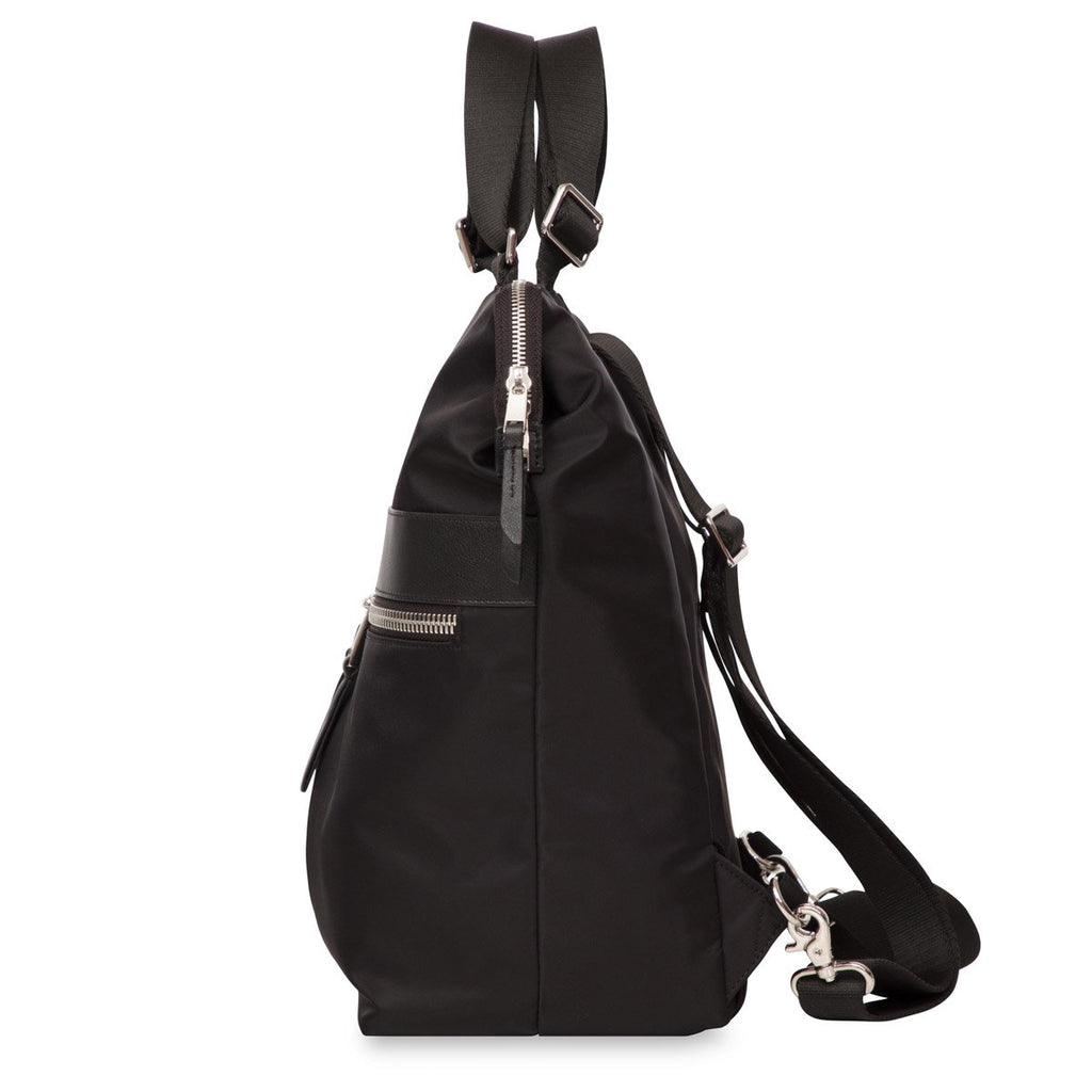 "Gilbert Laptop Tote Backpack - 14"" -  Black"