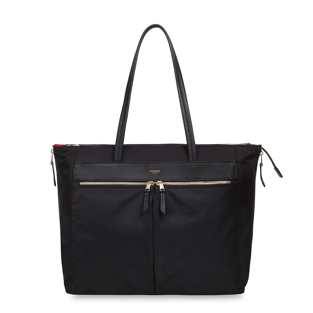 "Grosvenor Place Laptop Tote Bag - 15"" -  Black"