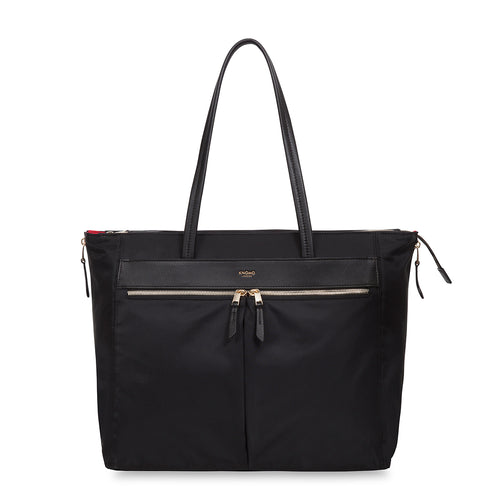"KNOMO Grosvenor Place Laptop Tote Bag - 15"" From Front 