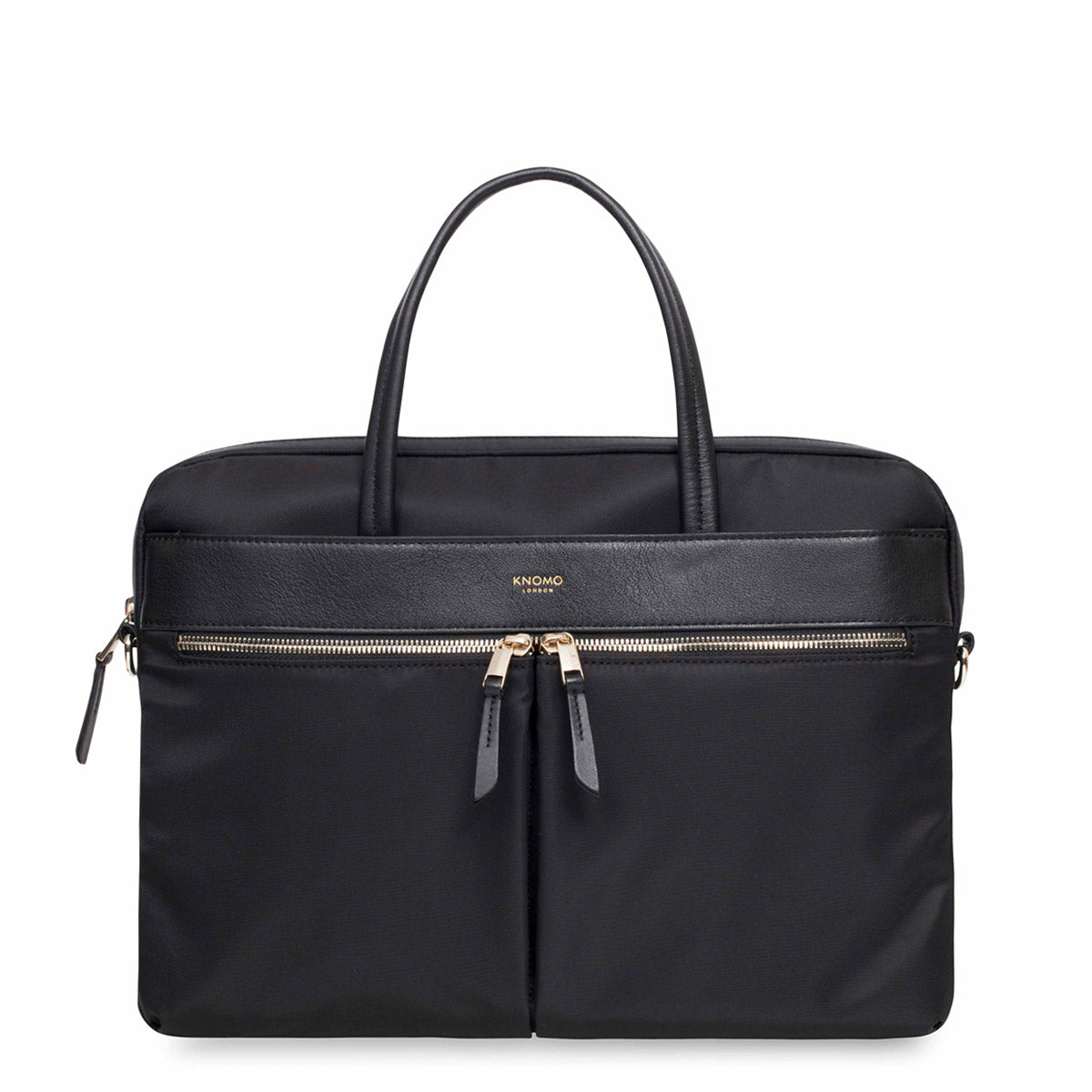 "Hanover Laptop Briefcase - 14"" -  Black 