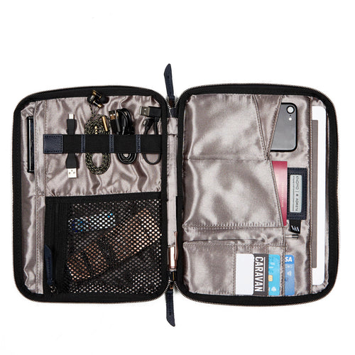 Tech Organizer For Everyday (V&A Exclusive) - Mayfair Knomad Organizer - 10.5