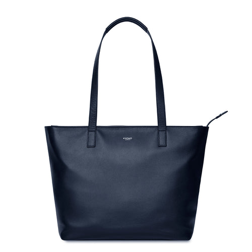 "Leather Laptop Tote Bag - 13"" - Mini Maddox 