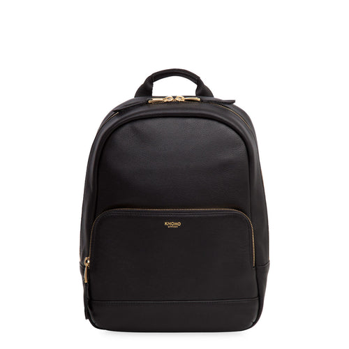 "KNOMO Mini Mount Leather Mini Backpack - 10"" From Front 