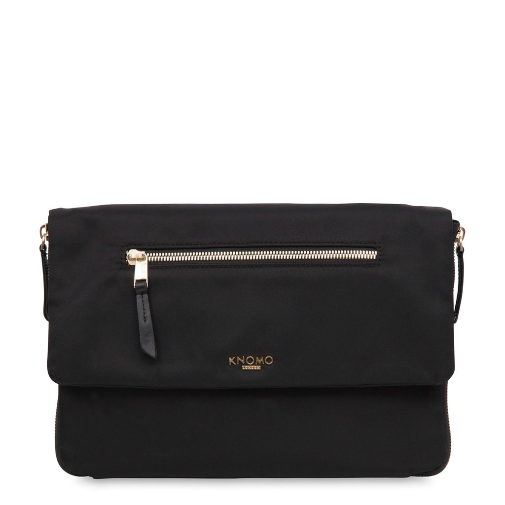 "Elektronista Cross-Body Clutch Bag - 10"" -  Black"