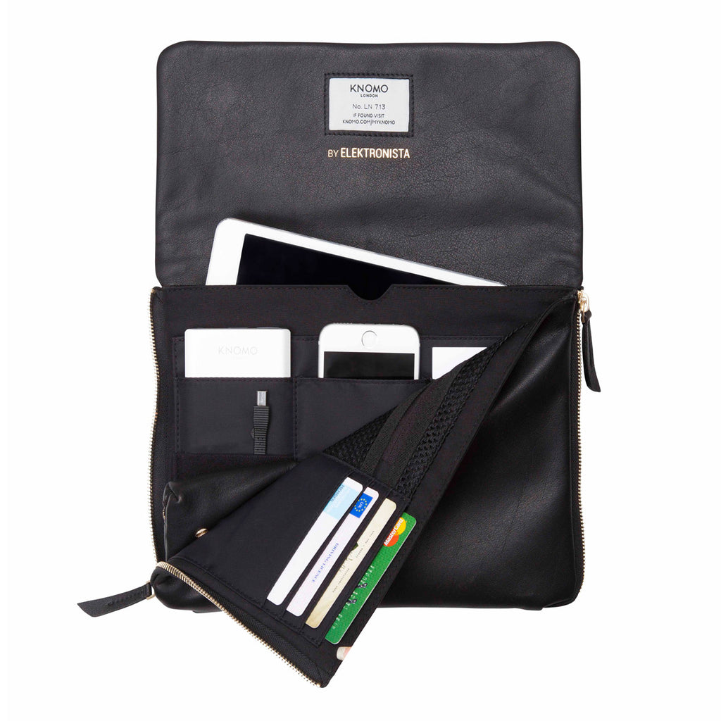 "Elektronista Leather Clutch / Shoulder Bag 10"" (No Power) -"