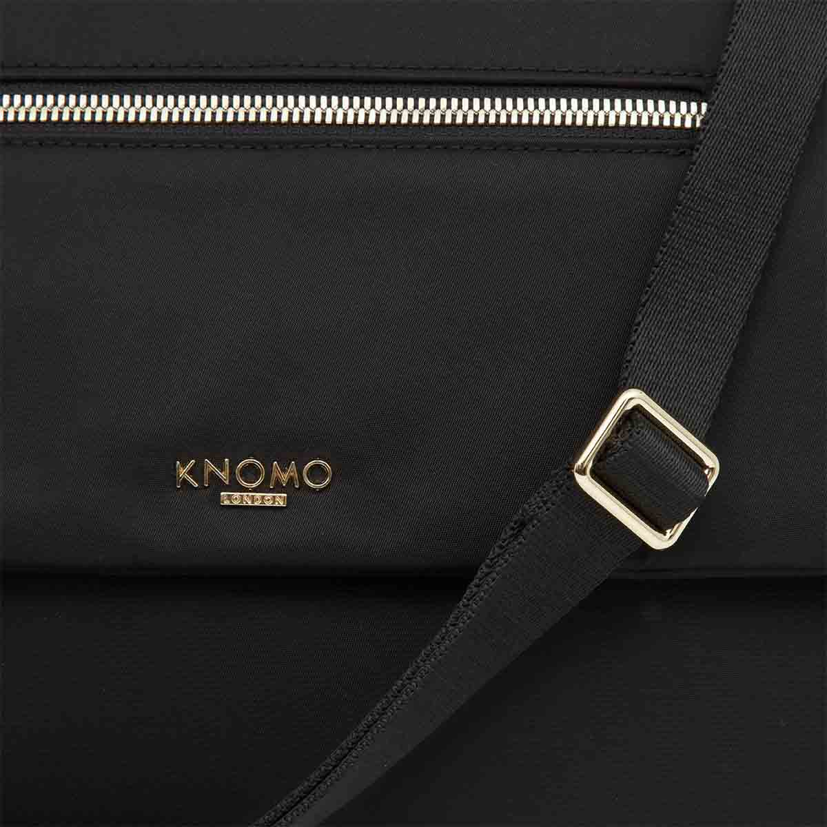 "Elektronista Cross-Body Clutch Bag - 10"" -  Black 