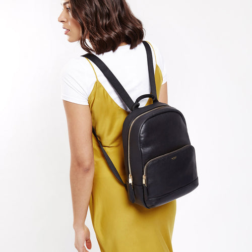 "KNOMO Mini Mount Leather Mini Backpack - 10"" Main Image 