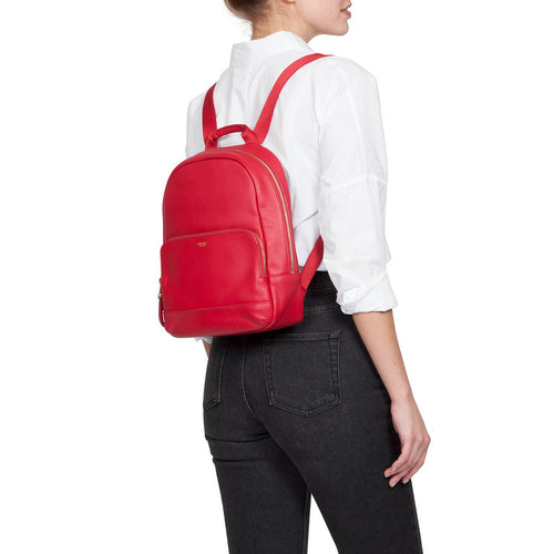 Small Leather Backpack - 10