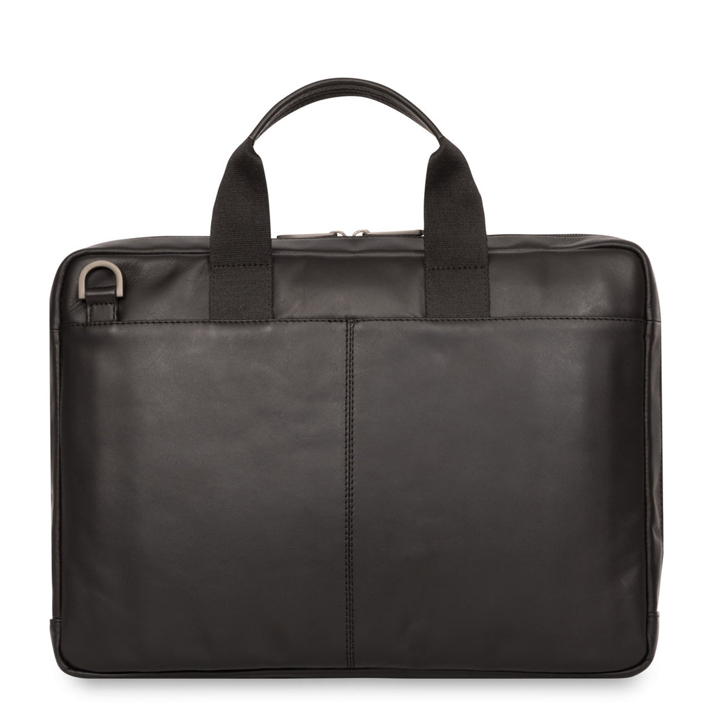 Leather Laptop Briefcase - 14""