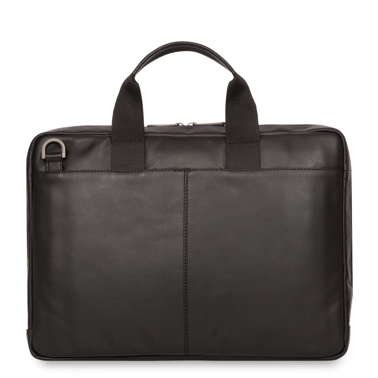 Leather Laptop Briefcase - 14