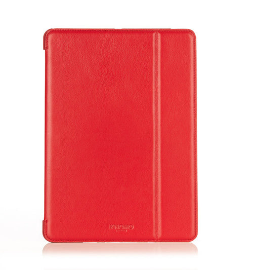 iPad Air Red Leather Folio - 10