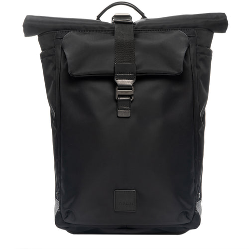 "KNOMO Novello Roll-Top Laptop Backpack - 15"" From Front 
